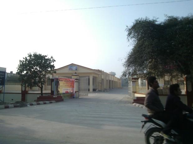 Benaras Hindu University Has A Huge Campus :-)