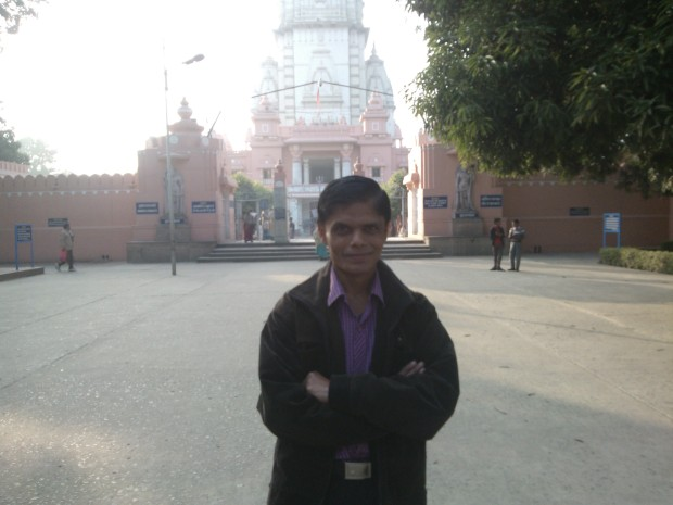 Myself Outside The Temple :-)