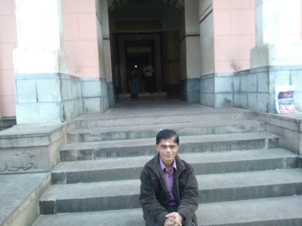 On The Stairs Leading To Lord Shiva :-)