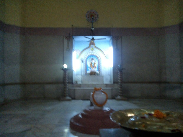 That's The Statue Of Lord Shiva Situated On The First Floor :-) Om Namah Shivay :-)