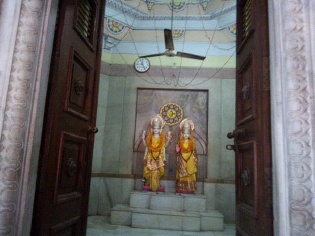 Also Notice Sri Laxmi- Narayana Ji's Statues :-) Salutations To Both Of Them :-)