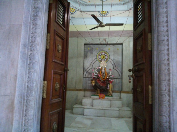 Goddess Durgaji's Statue Inside The Temple :-) My Pranama To The Mother Of Cosmos :-)