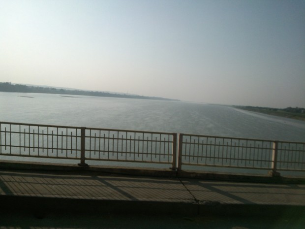 Mother Ganges At Mirzapur Which I Noticed While Going To My Village From Varanasi :-)