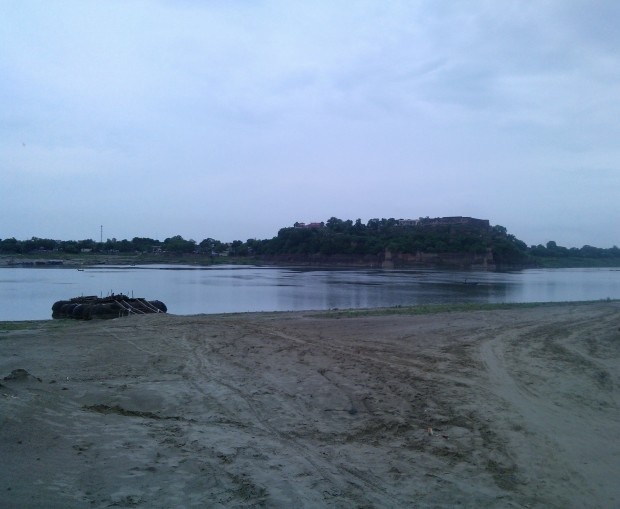 Chuar Fort's Rear View From Chunar Ghat Side...