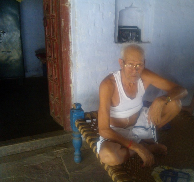 Former Gram Pradhan Of My Village...