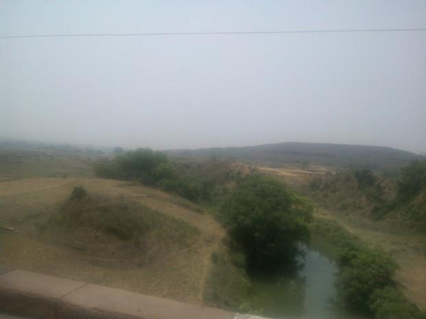 Hilly Terrain In Lalganj, Mirzapur, Uttar Pradesh.