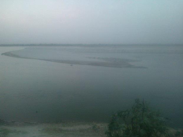 Ganges In Evening Hours....