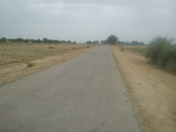 Proof That Metal Road Exists In My Village :P