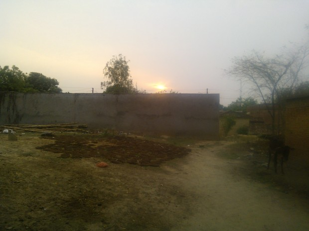 Evening Prevails....Mornings and Evenings Hold A  Special Meaning In Rural World...Their Beauty Is Unmatched...