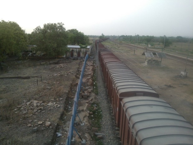 Outside Pahara Station...