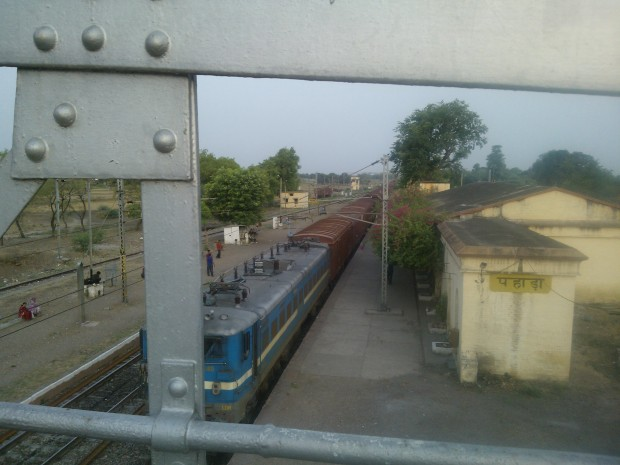 Overview Of Pahara Station From Atop A Railway Bridge :P