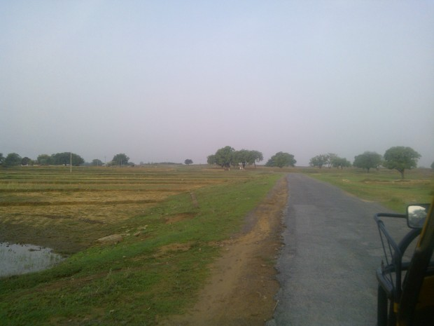 Glimpse Of Road Journey To Chunar!