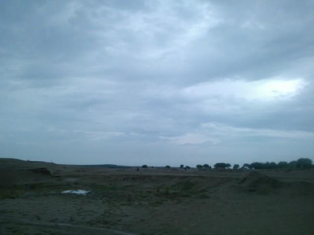 Skyline At Chunar Ghat...
