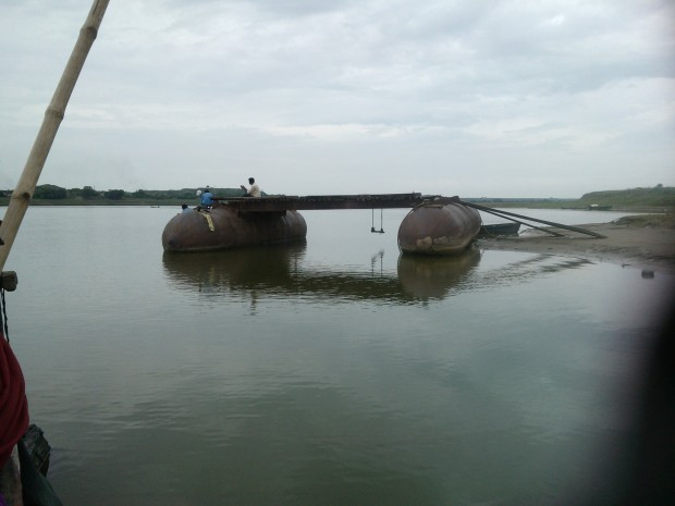 This Pontoon Bridge Remains Operational All Through The Year But In Rainy Season This Becomes Dysfunctional ...