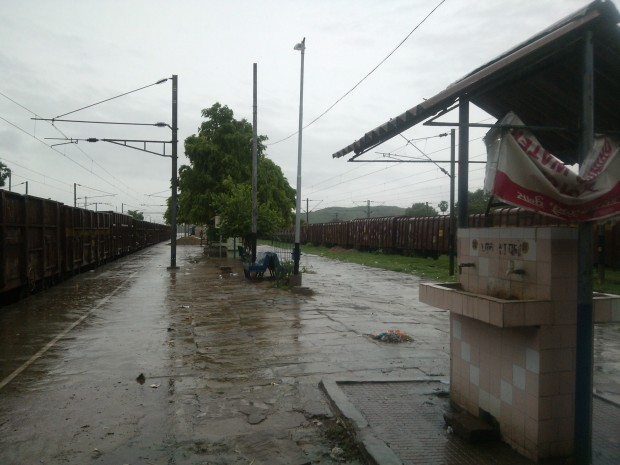 An overview of Chumar Station...