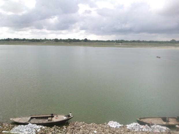Ganges In Mirzapur....