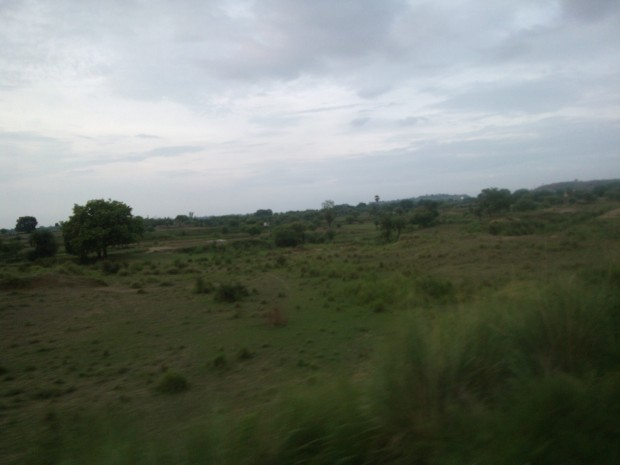 Notice That Hills Gain Prominence Before Arrival of Chunar Junction!