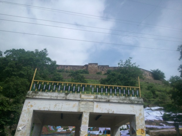 View Of The Fort From A Corner Famous For Dussehara Festival...
