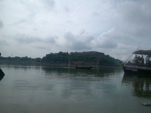 View Of The Fort From The Boat :-)