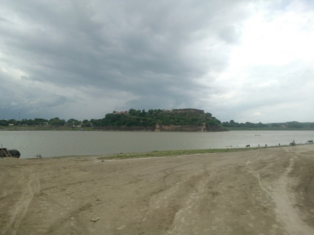View Of The Fort On  A Day When Dark Clouds Ruled The Roost...