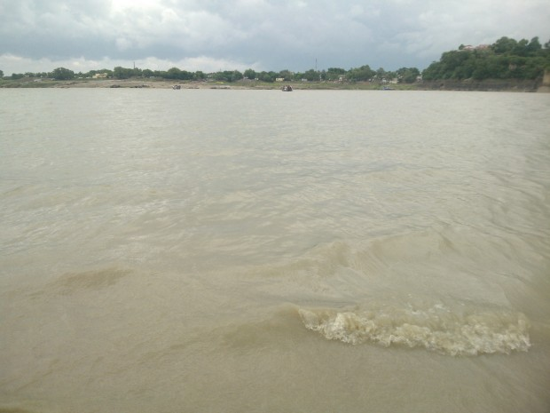 Rain waters came to change the face of Ganges...