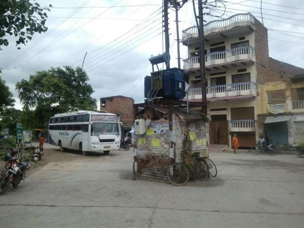 A Popular Corner At Chunar...
