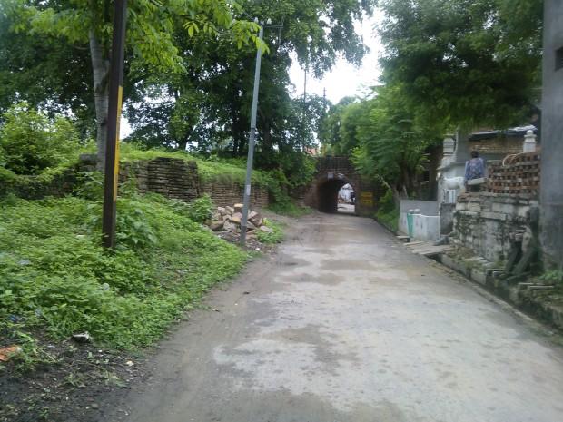Inside the Chunar Town..