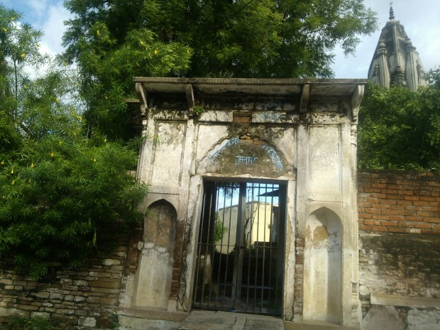 View Of Sanskrit Paathshala...The building in dilapidated state bears testimony to poor state of Sanskrit teaching...