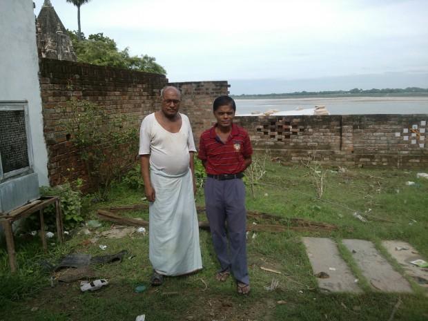 With A Senior Journalist Of Varanasi/Chunar,Shri  Rajendra Mishraji. He is also a well knowm social activist.
