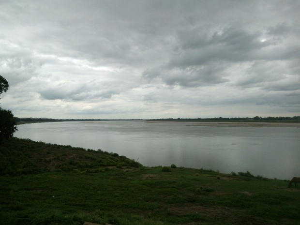 Ganges At Evening Hours At Chunar...