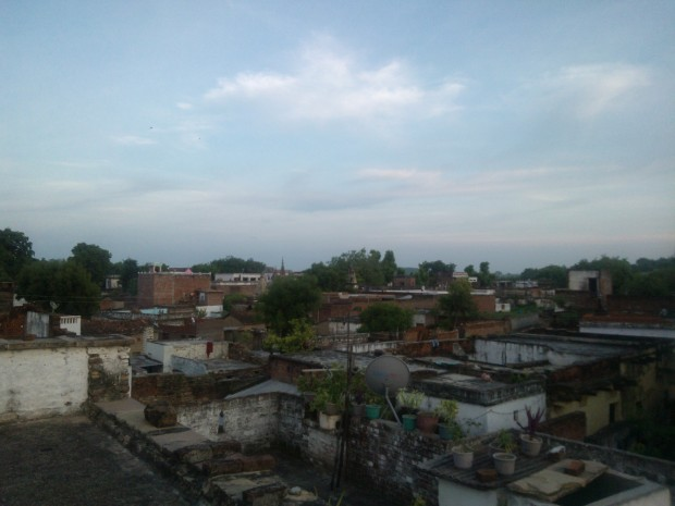 View Of  Chunar From The Top ...