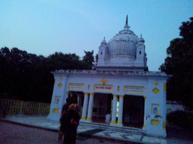 That's Samadhi Site Of  Saint Kabir!