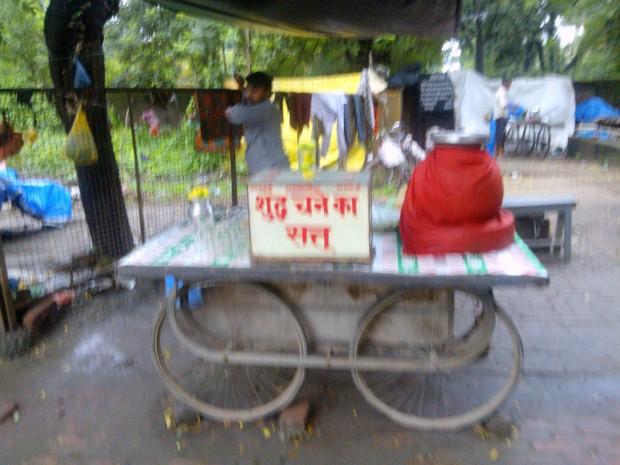Before We Move To Kushinagar Let's Taste This Shuddha Chane Ka Sattu :P :P :P