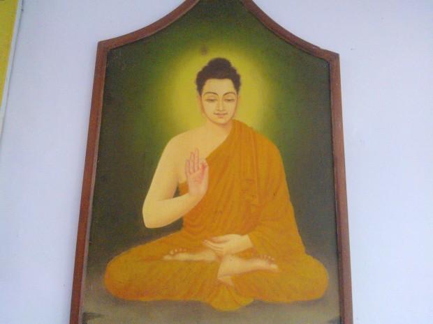 Hotel Pathik Niwas Exhibited Good Images Of Lord Buddha :-)