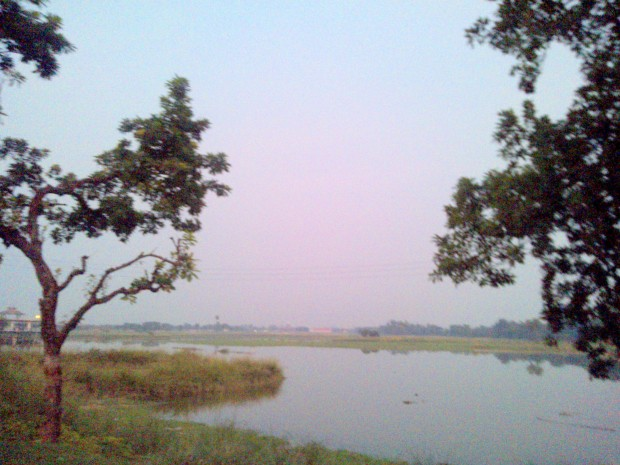 At Maghar :-) That's Cremation Site Of Saint Kabir :-)