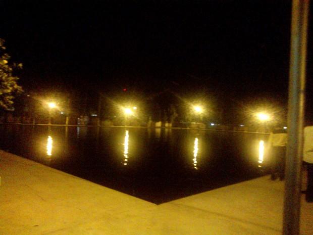 Beautiful Night Scene Inside Gorakhnath Temple :-)