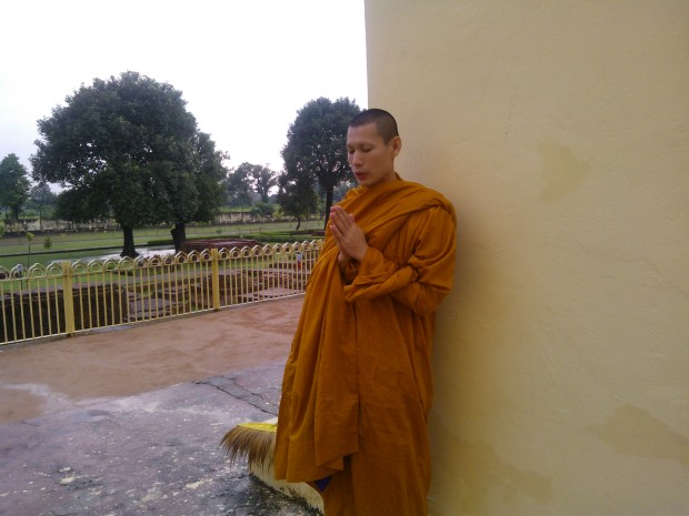 I Came To Witness This Monk Lost In Meditation :-)