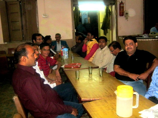 With Friends At Historic Coffee House In Allahabad!