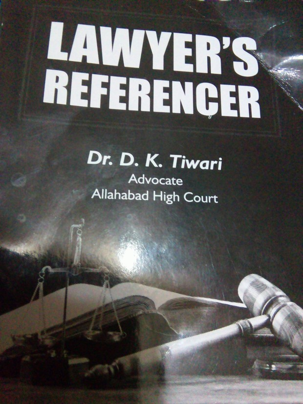 Lawyer's Referencer: A Good Book For Legal Hawks!